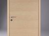 Design F-Türelement, eckige Kante bei Zarge und Türblatt, Decora Eiche Polar, verdeckte Bänder Typ GN,