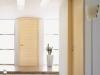 Design F Türelement Horizont in geschosshoher Ausführung mit Rundkantenzarge Kanadischer Ahorn Zusatzausstattung: verdeckte Bänder Typ H, ohne Schlüssellochbohrung